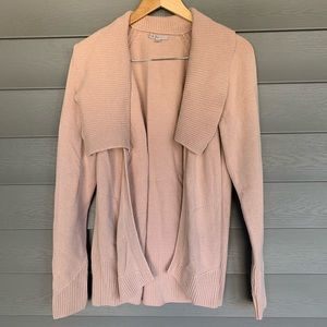 GAP Rose Knit Cardigan Open Front Shawl Sweater